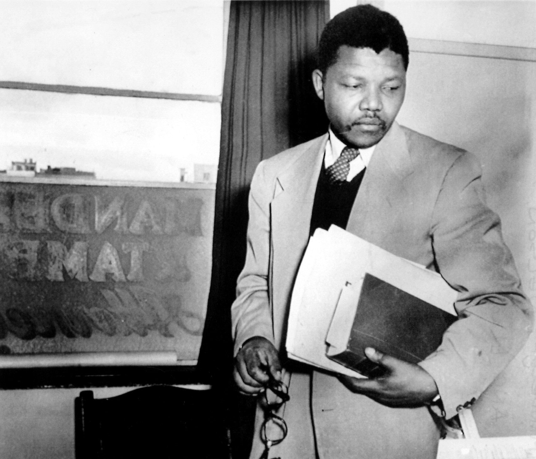 Image result for young nelson mandela